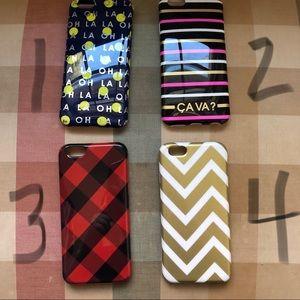 Used J Crew iPhone 6 cases